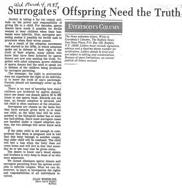 10-Surrogates'OffspringNeed 3-4-87