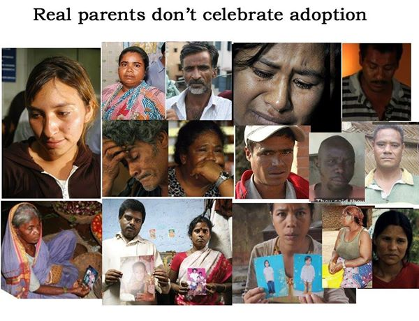Real Parents Don't Celebrate Adoption 2014