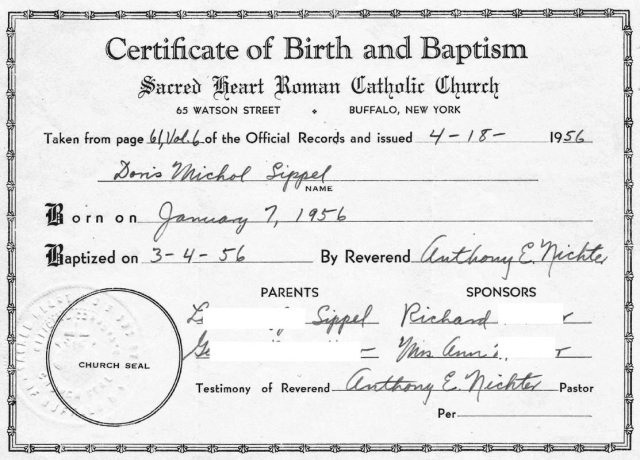 CertificateOfBirthAndBaptismDMS NamesRedacted RESIZED WEB