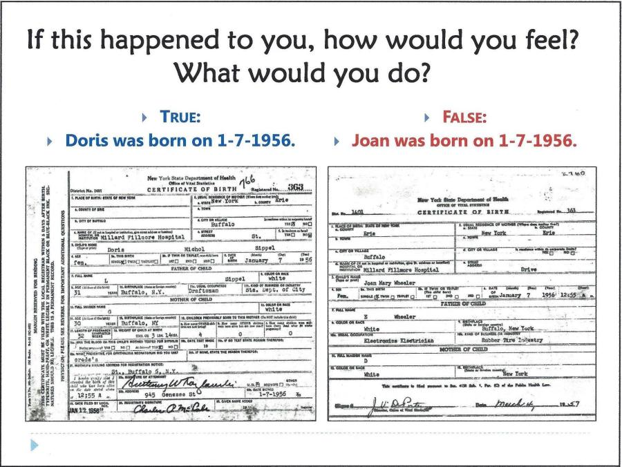 adoptee true sealed birth certificate – forbidden family